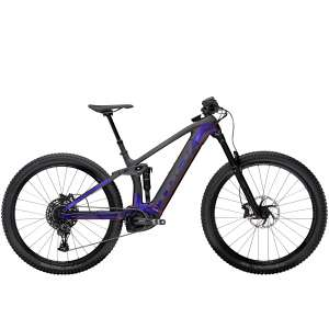 Rail 9.7 NX Gloss Purple Phaze/Matte Raw Carbon - TREK