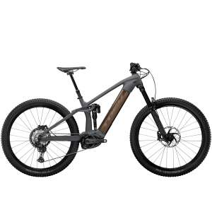 Rail 9.8 XT Solid Charcoal to Root Beer Ano Decal - TREK