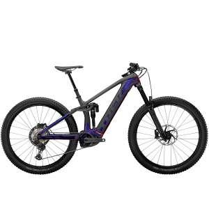 Rail 9.8 XT Gloss Purple Phaze/Matte Raw Carbon - TREK