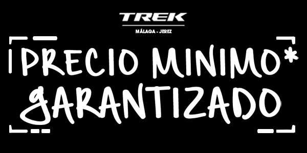 Precio mínimo garantizado por Bicicletas Trek